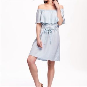 Old Navy- Off the Shoulder Chambray Dress